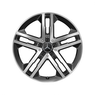 Alufelge Mercedes-Benz, GLA H247, GLB X247, 19 Zoll, 5-Doppelspeichen Design