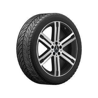 Mercedes-Benz Sommerkompletträder-Satz, GLA H247, GLB X247, 20 Zoll, 6-Speichen Design