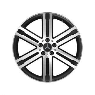 Alufelge Mercedes-Benz, GLA H247, GLB X247, 20 Zoll, 6-Speichen Design