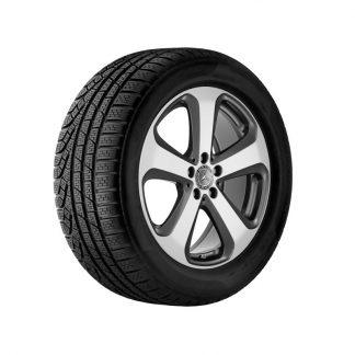 Mercedes-Benz Sommerkompletträder Satz, 19 Zoll, E-Klasse S213, 5-Speichen Design