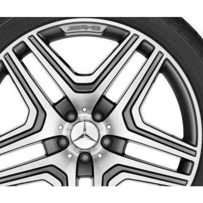 AMG Sommerkompletträder Satz, GLS X166, 21 Zoll, 5-Doppelspeichen Design