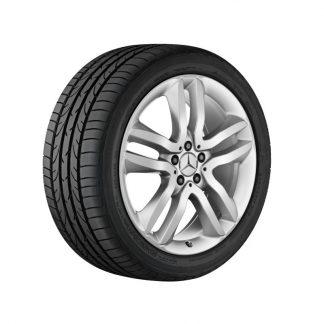 Mercedes-Benz Sommerkompletträder Satz, GLS X166, 20 Zoll, 5-Doppelspeichen Design