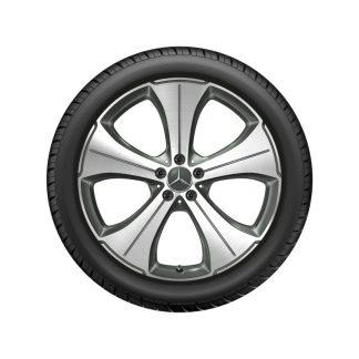 Alufelge Mercedes-Benz 21 Zoll, GLS X167, 5-Speichen Design