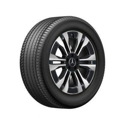 Mercedes-Benz Sommerkompletträder Satz, GLS X167, 19 Zoll, 6-Doppelspeichen Design
