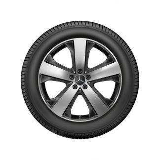 Alufelge Mercedes-Benz 20 Zoll, GLS X167, 5-Speichen Design