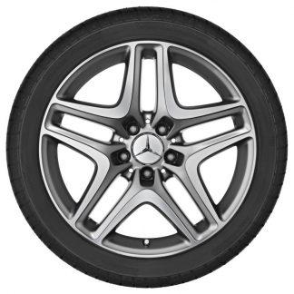 Alufelge 18 Zoll Mercedes-Benz, SLK R172, 5-Doppelspeichen Design
