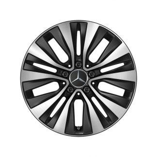 Alufelge 17 Zoll Mercedes-Benz GLA, GLB, CLA, A-Klasse, 5-Doppelspeichen-Design, aerooptimiert