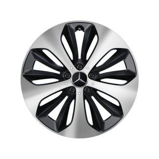 Alufelge Mercedes-Benz 19 Zoll, GLA, GLB, 10-Speichen-Design, Aero