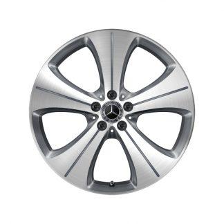 Alufelge Mercedes-Benz 20 Zoll, GLA, GLB, 5-Speichen-Design