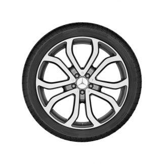 Alufelge 21 Zoll, Mercedes-Benz GLE C292, 5 Doppelspeichen Design
