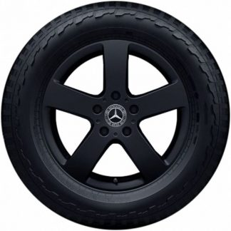 Mercedes-Benz Sommerkompletträder Satz, G-Klasse W463, 18 Zoll, 5-Speichen Design