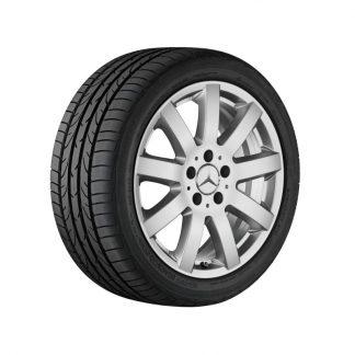 Mercedes-Benz Aktions-Sommerkompletträder Satz, E-Klasse S211, W211, 16 Zoll, 11-Speichen Design