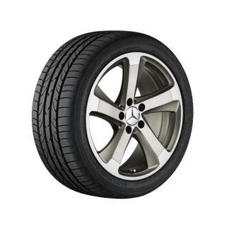 Mercedes-Benz Sommerkompletträder Satz, SL R231, 18 Zoll, 5-Speichen Design