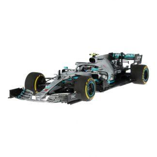 MERCEDES AMG PETRONAS Formula One™ Team, Valtteri Bottas, Saison 2019 Modellauto, Maßstab 1:18