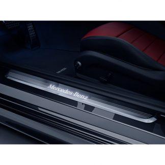 Mercedes-Benz Einstiegsleiste, beleuchtet, vorne, C-Klasse