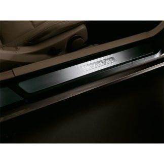 Mercedes-Benz Einstiegsleiste, beleuchtet, 2-teilig, E-Klasse
