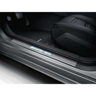 Mercedes-Benz AMG Einstiegsleisten, weiß beleuchtet, vorne, Satz 4-fach, CLS, E-Klasse
