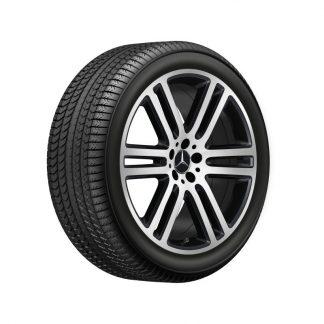 Mercedes-Benz Winterkompletträder Satz, GLE 300, GLE 350, GLE 450, GLE 580, 21 Zoll, 6-Doppelspeichen Design