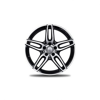 Mercedes-Benz AMG Alufelge, 5-Doppelspeichen-Design, 18 Zoll, A-Klasse, B-Klasse, CLA