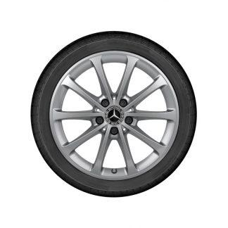 Mercedes-Benz 17 Zoll Alufelge, A-Klasse, B-Klasse, CLA, GLB, 10-Speichen Design