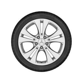 Mercedes-Benz Alufelge, 5-Doppelspeichen-Design, 17 Zoll, A-Klasse, B-Klasse, CLA
