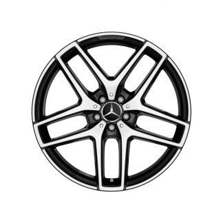 Mercedes-Benz AMG Alufelge, 5-Doppelspeichen-Design, 21 Zoll, GLE