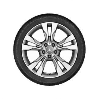 Mercedes-Benz Alufelge, 5-Doppelspeichen-Design, 18 Zoll, V-Klasse, Vito