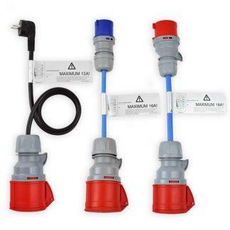 Adapterset CEE 32A klein für Ladekabel NRGkick