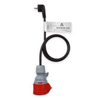 Adapter CEE 16A 3p - CEE 7/7 Schuko (Europa) NRGkick für Ladekabel