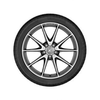 19 Zoll AMG Alufelge, E-Klasse S213, W213, 10-Speichen Design
