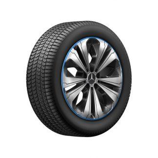 Mercedes-Benz Winterkompletträder Satz, GLC N253, 19 Zoll, 5-Doppelspeichen-Design, Mischbereifung