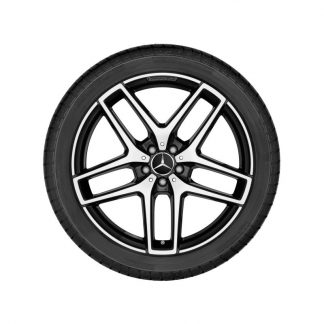 AMG Radnabenabdeckung, im Zentralverschlussdesign