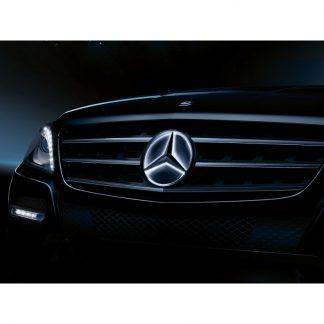 Mercedes-Benz, Stern beleuchtet, Dekorteil