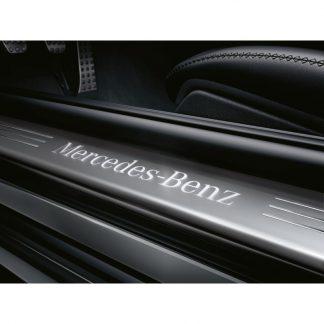 Mercedes-Benz, Wechselcover für beleuchtete Einstiegsleiste vorne, 2-fach