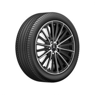 Mercedes-Benz Sommerkompletträder Satz, C-Klasse, 18 Zoll, 10-Speichen Design, Mischbereifung