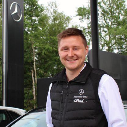 Bodywarmer Weste, Mercedes-Benz und Paul Logo